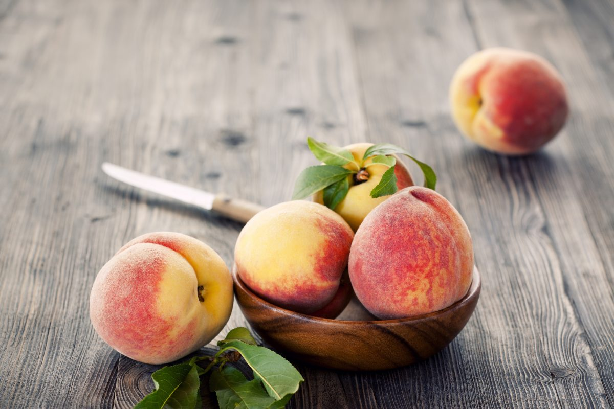 cardiovascular healthy heart peaches