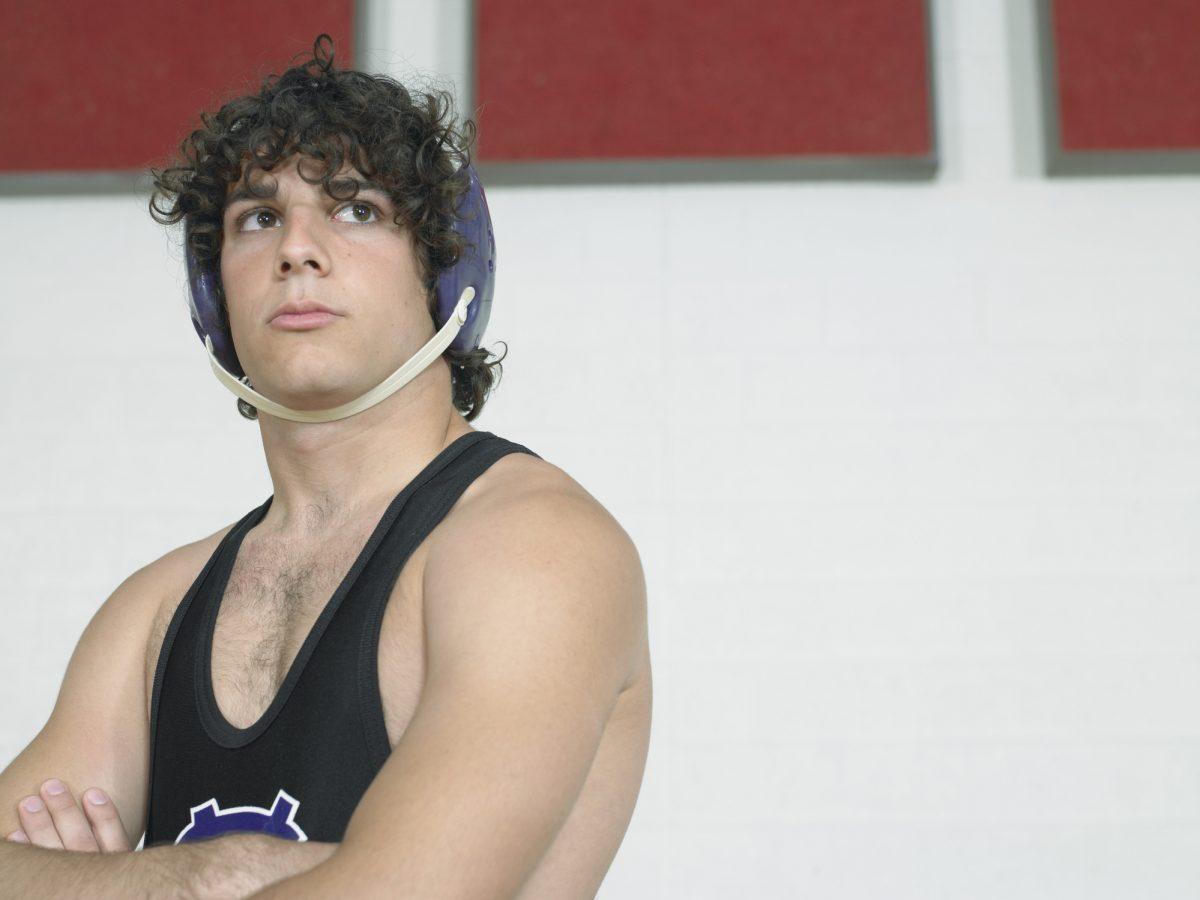 wrestler headgear prevention