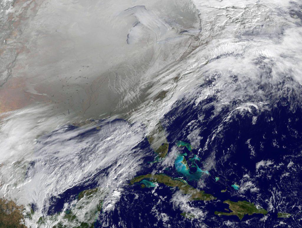 polar vortex development movement