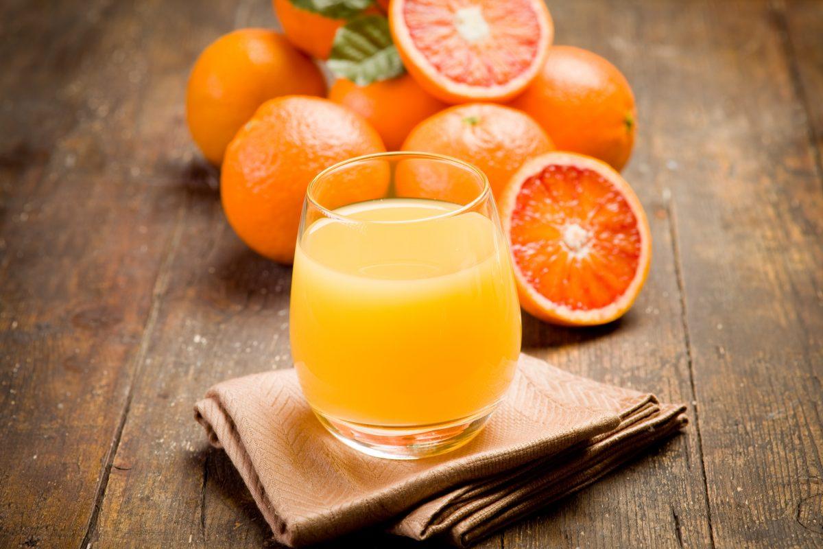 vitamin A, carotenoid, citrus juice