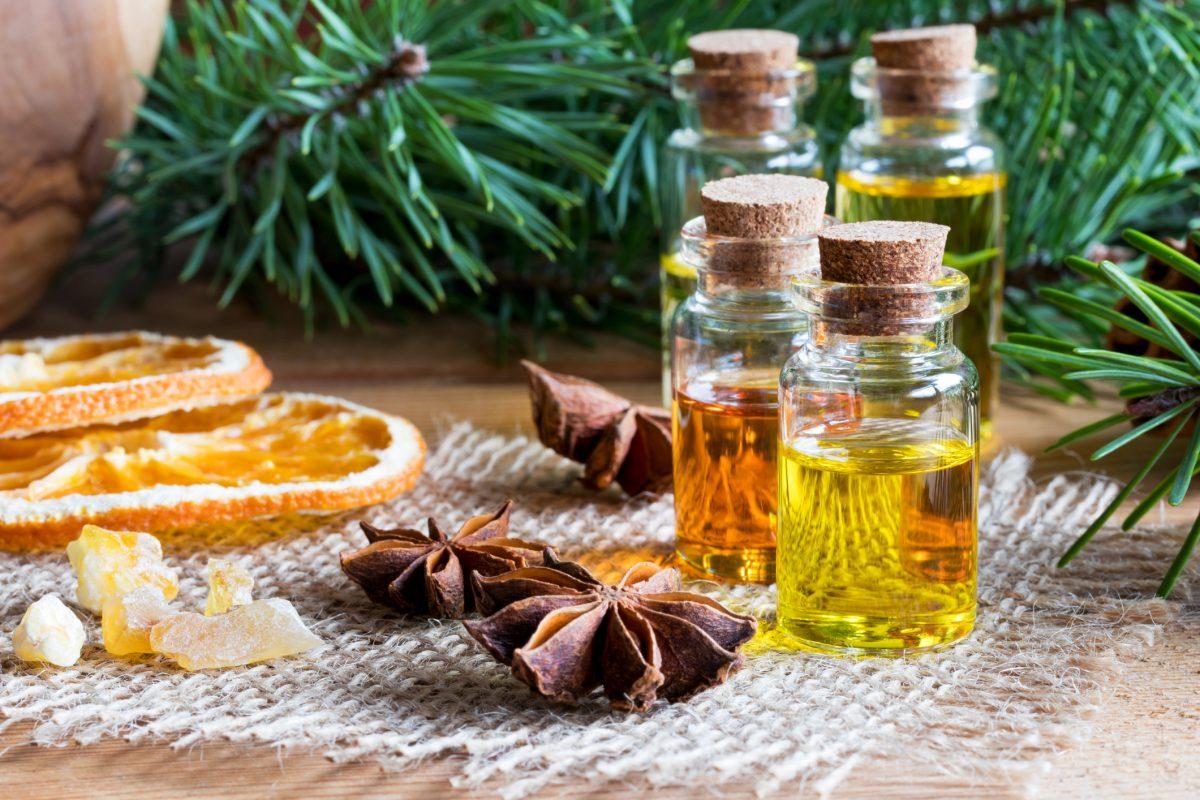 citrus essential oil, antibacterial, mandarin