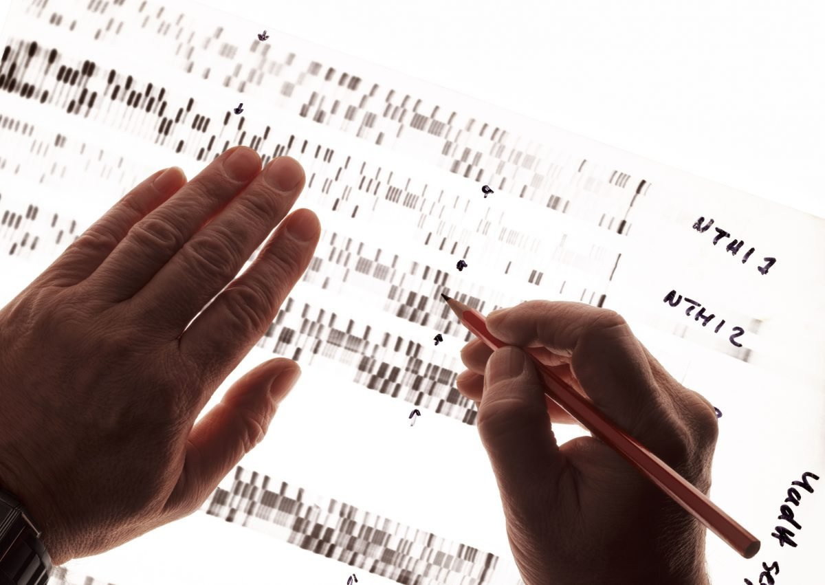 DNA test diagnosis