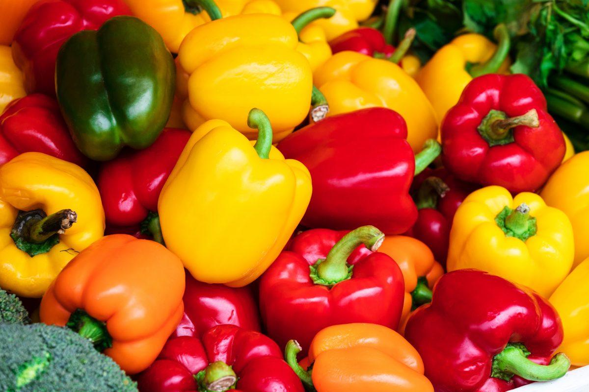 antioxidant collagen yellow bell pepper