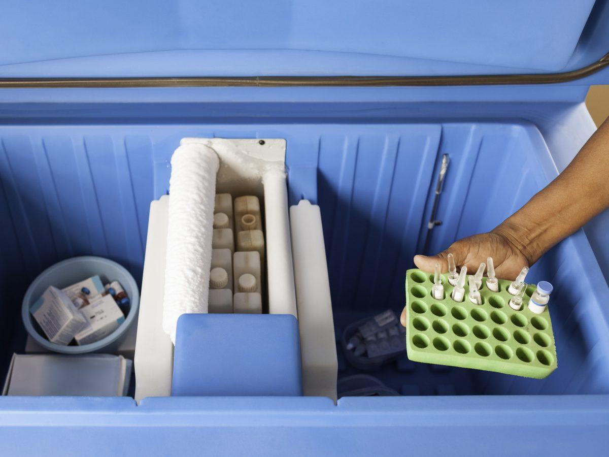 vaccine freezer storage