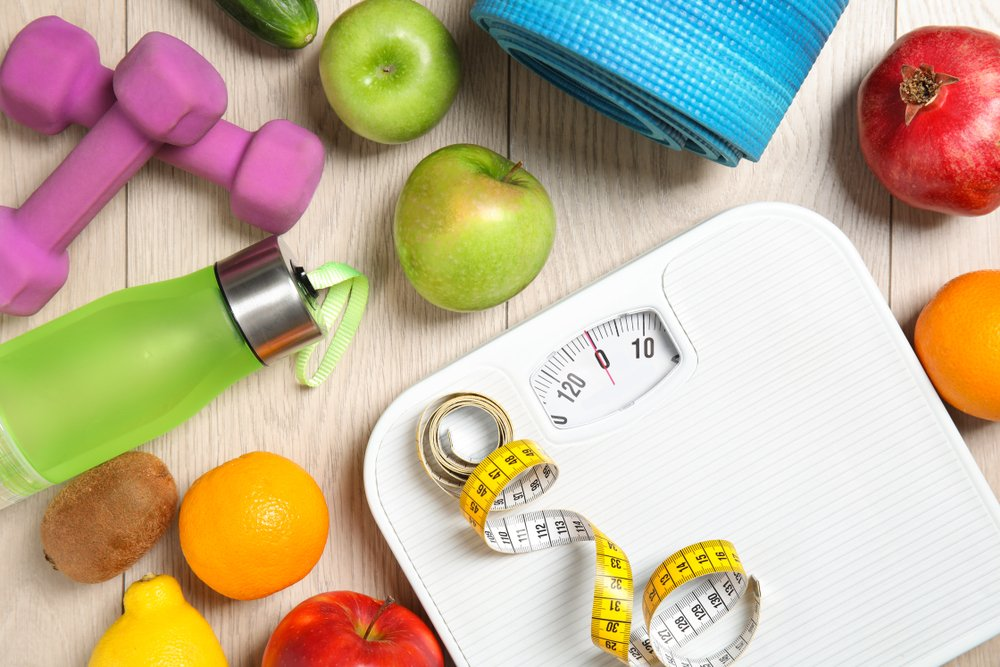 morning workouts for weight loss scale concept