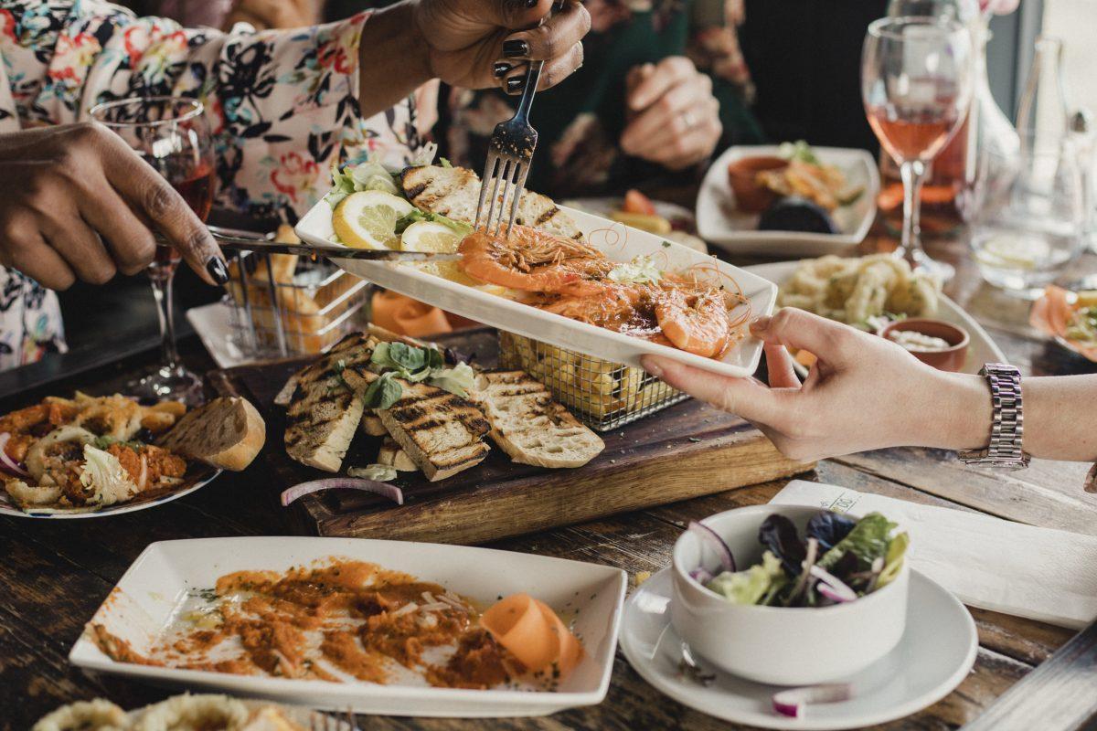 full plate food