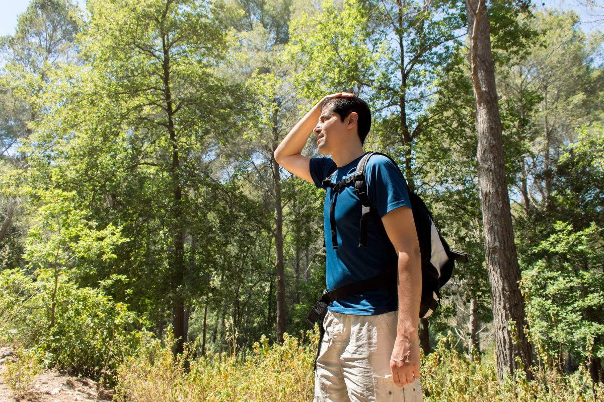 fever travel hiking
