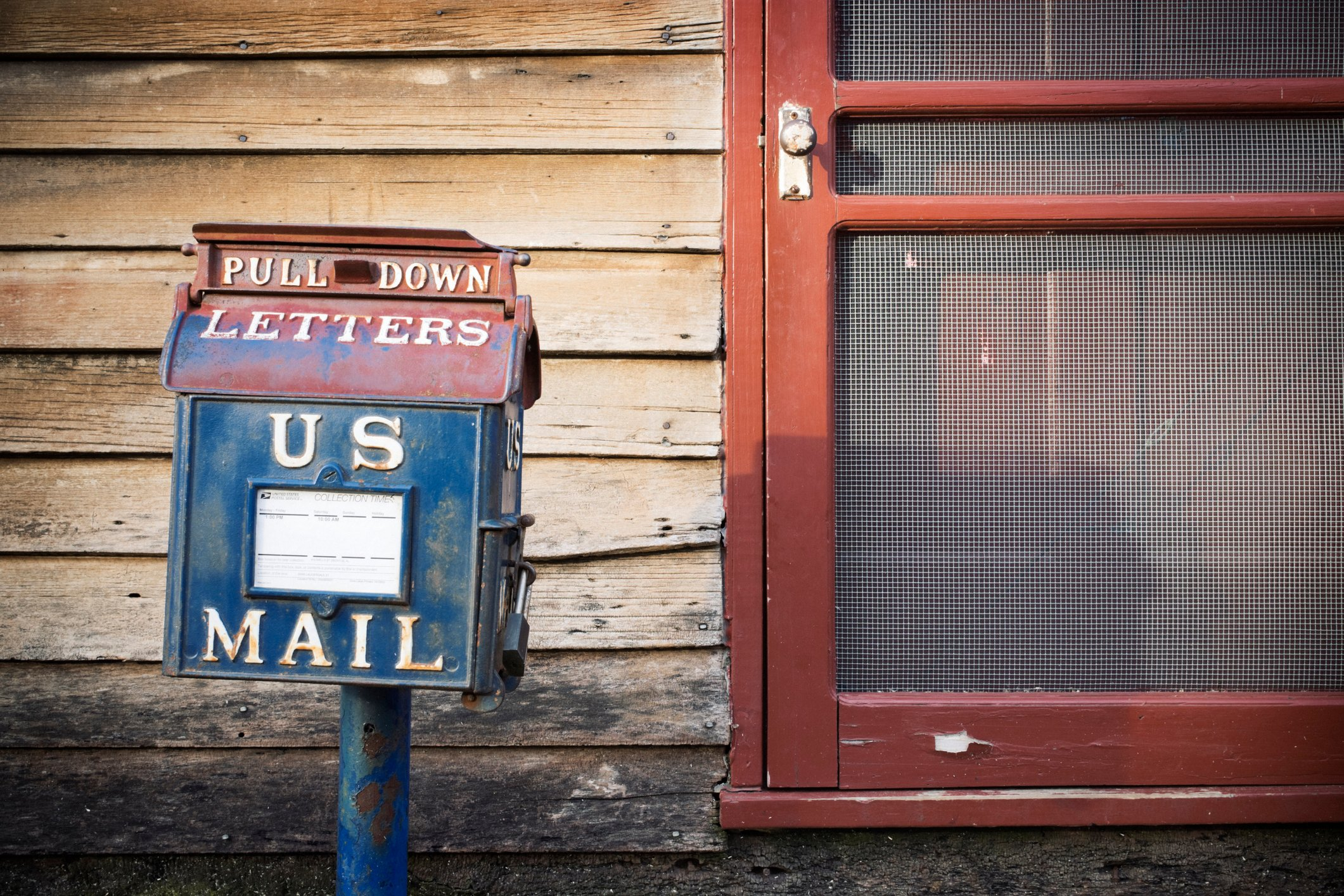 Mail Dropbox at Old Post Office