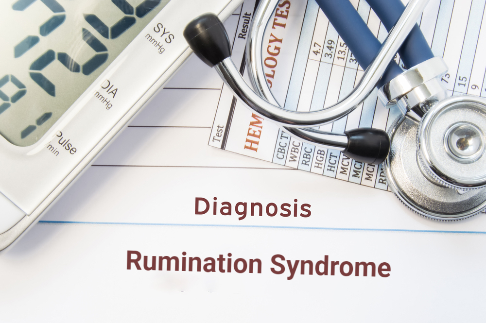 diagnosis rumination syndrome concept with stethoscope