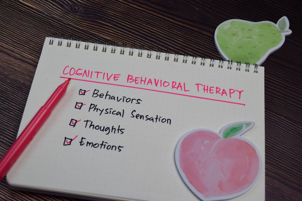 cognitive behavioral therapy concept
