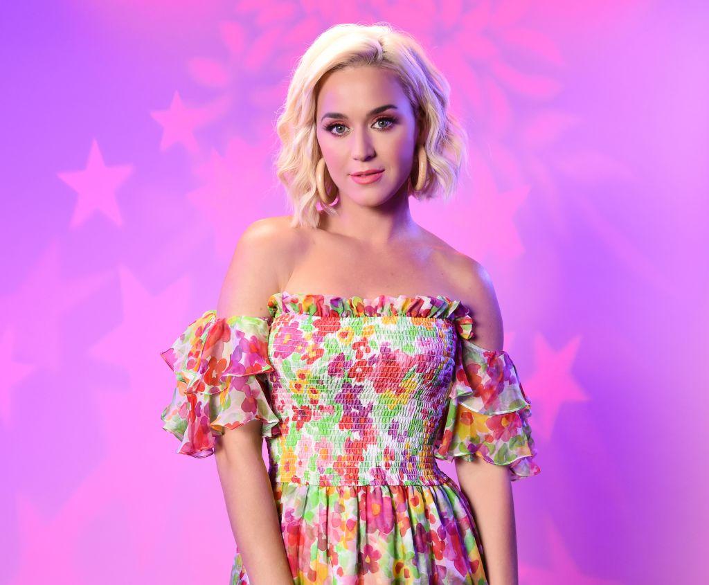 LOS ANGELES, CALIFORNIA - AUGUST 07: Katy Perry visits the SiriusXM Studios on August 07, 2019 in Los Angeles, California.