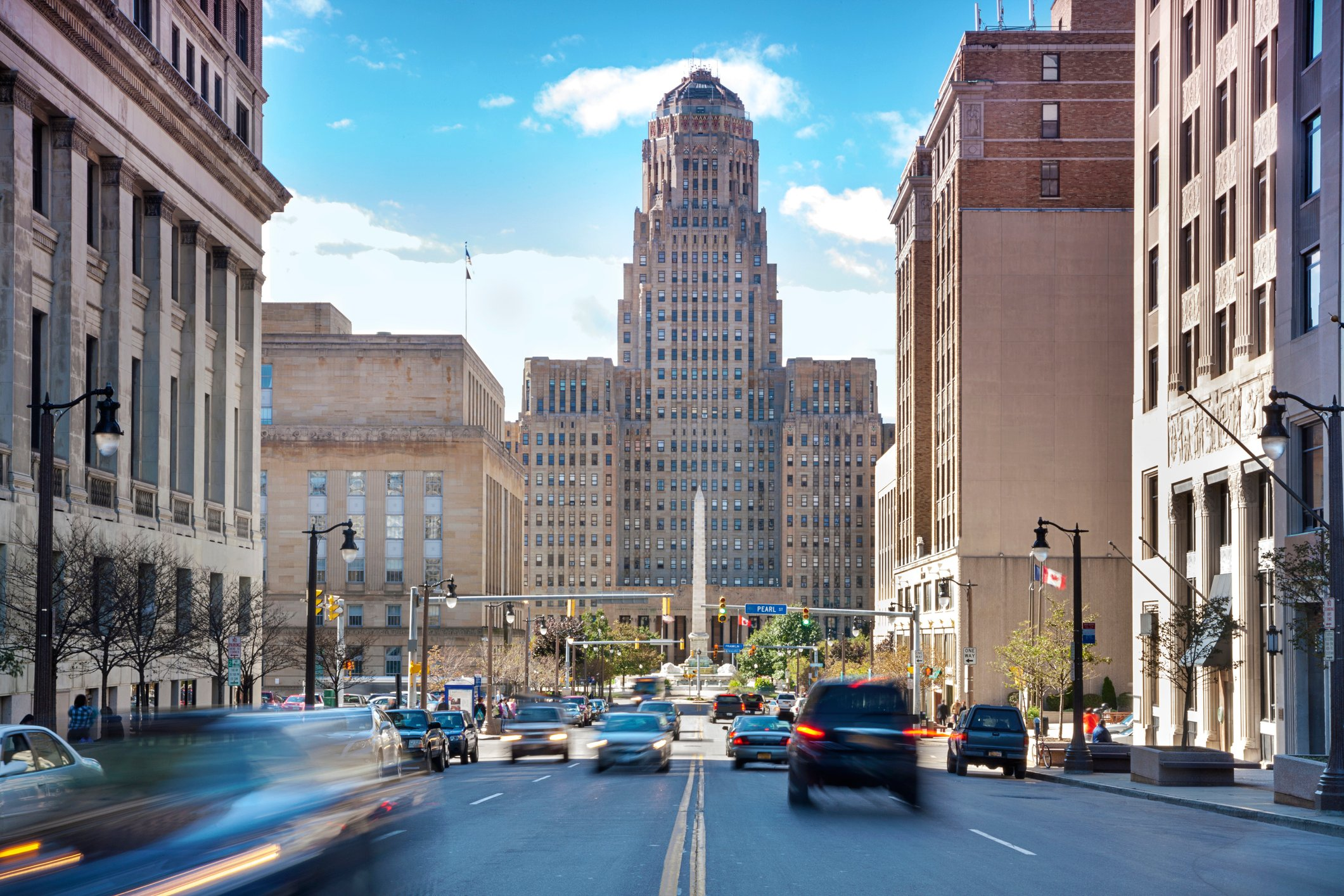Buffalo is the second most populous city in the state of New York, behind New York City.