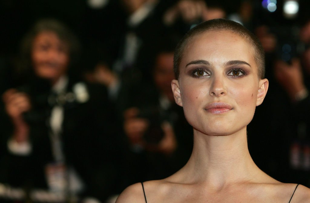 """CANNES, FRANCE - MAY 14: Actress Natalie Portman attends a screening of """"Kiss Kiss Bang Bang"""" at the Grand Theatre during the 58th International Cannes Film Festival on May 14, 2005 in Cannes, France."""
