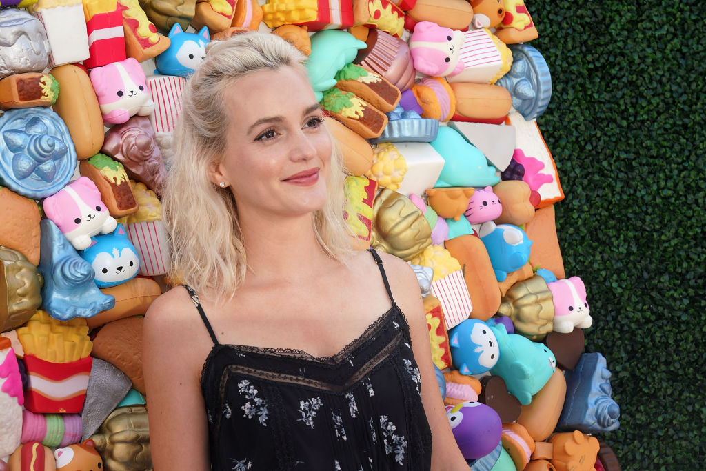 SANTA MONICA, CA - APRIL 28: Actor Leighton Meester attends Zimmer Children's Museum's 3rd Annual We All Play Fundraiser on April 28, 2018 in Santa Monica, California.