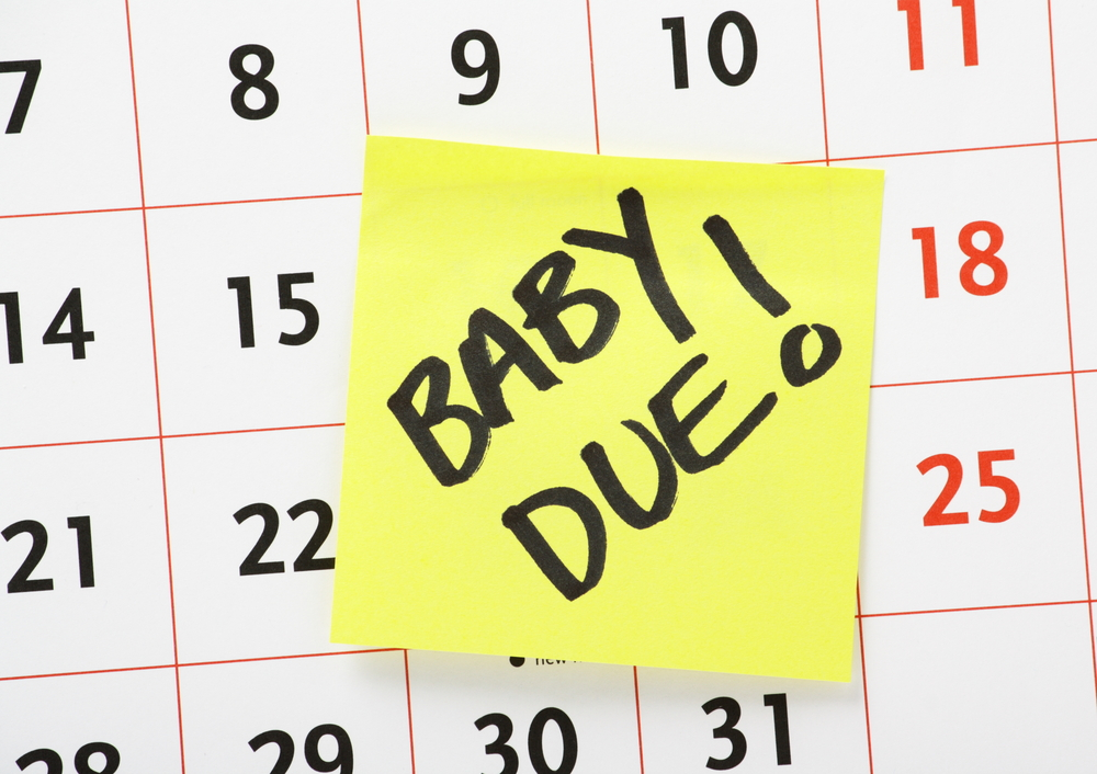 pregnancy due date on calendar