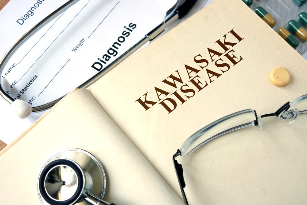diagnosis doctor's book concept Kawasaki disease