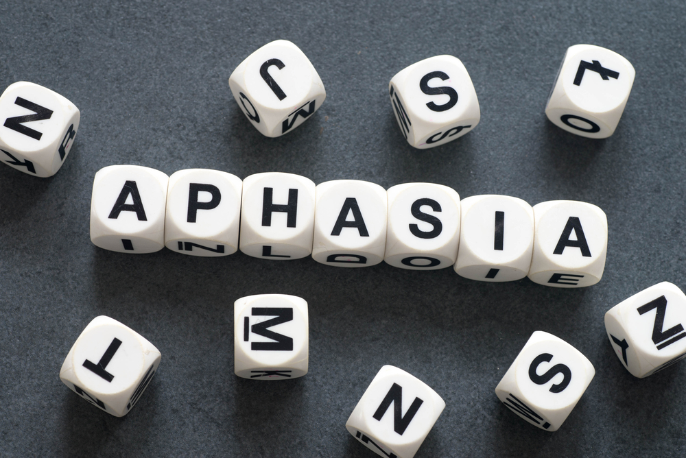 boggle letters spelling out aphasia