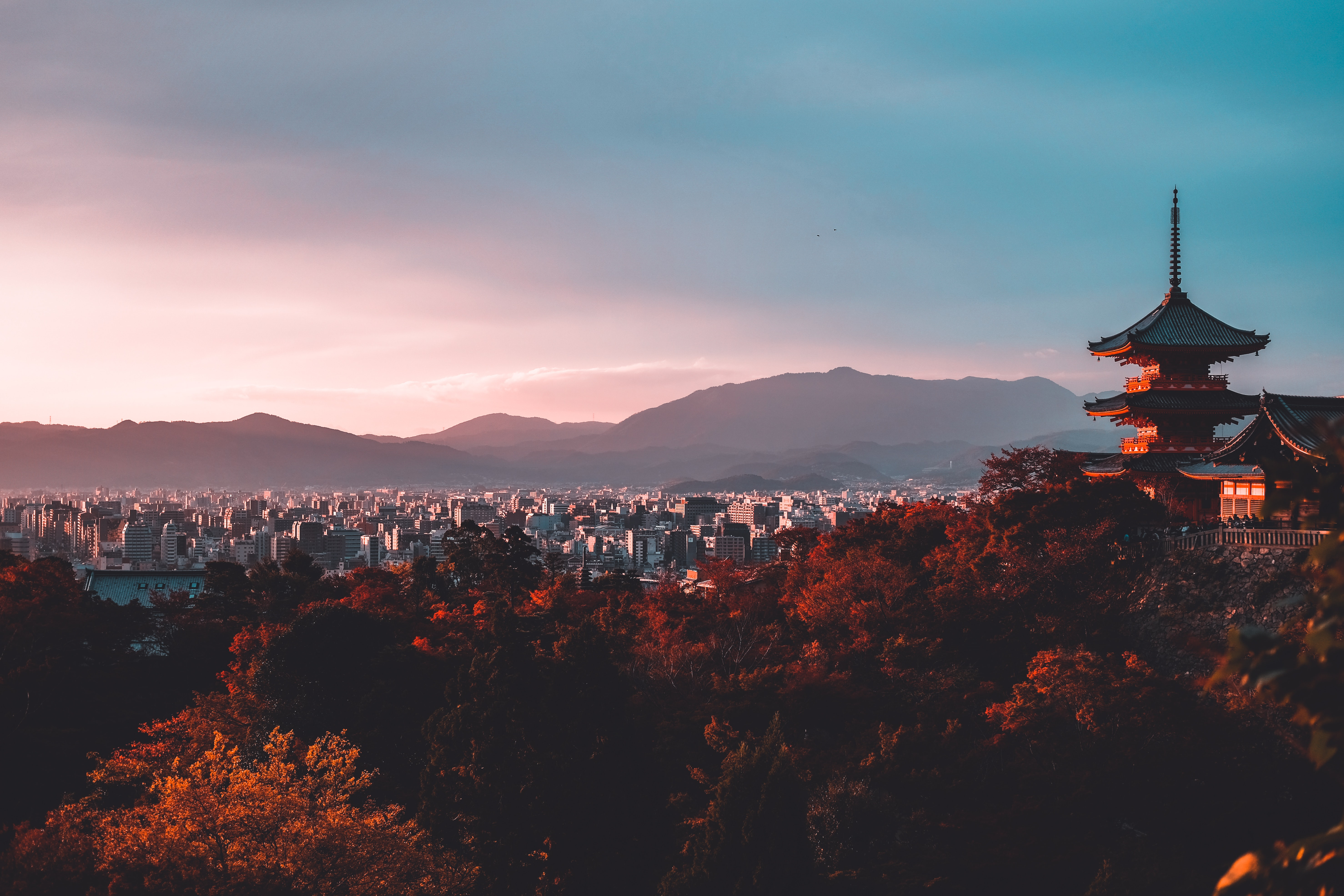 Kiyozumi Dera, Kyoto, Japan