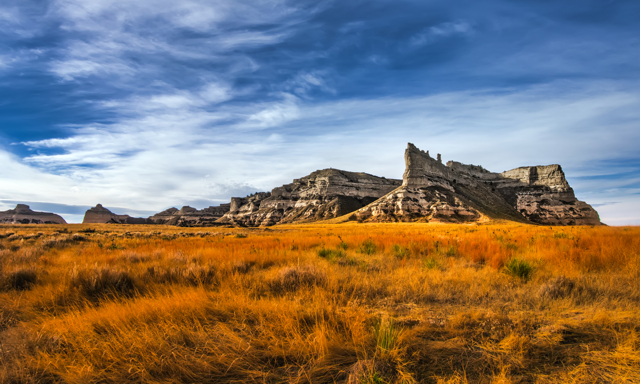 Scottusbluff National Monument in Gering Nebraska