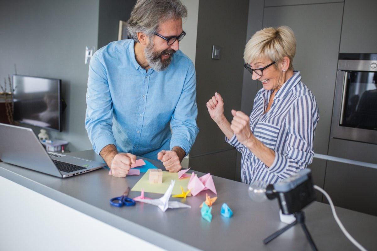 reduce stress art origami
