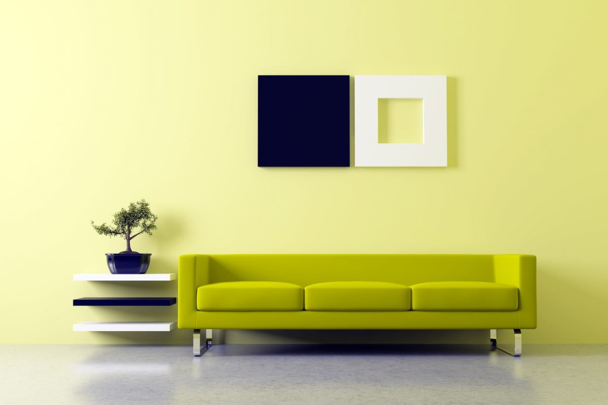 color elements harmonious interior