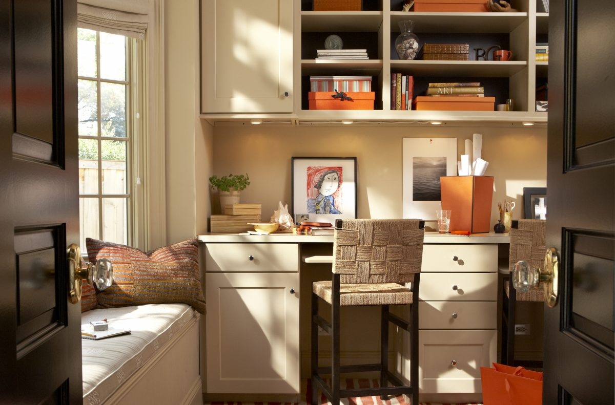 A charming home office