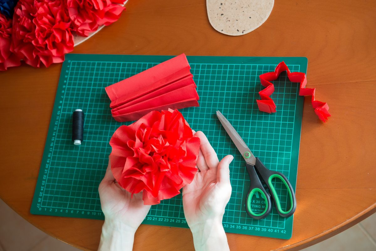 Tissue paper flowers pretty flowers