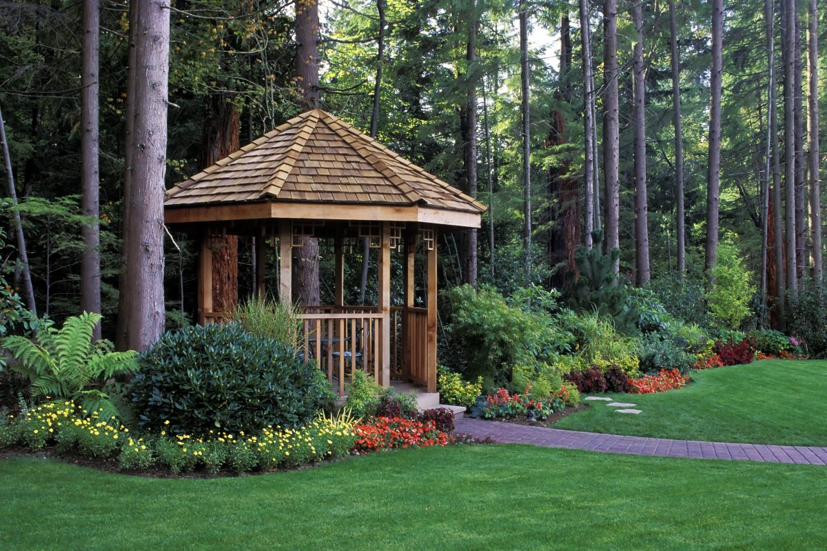 Landscaping ideas gazebo