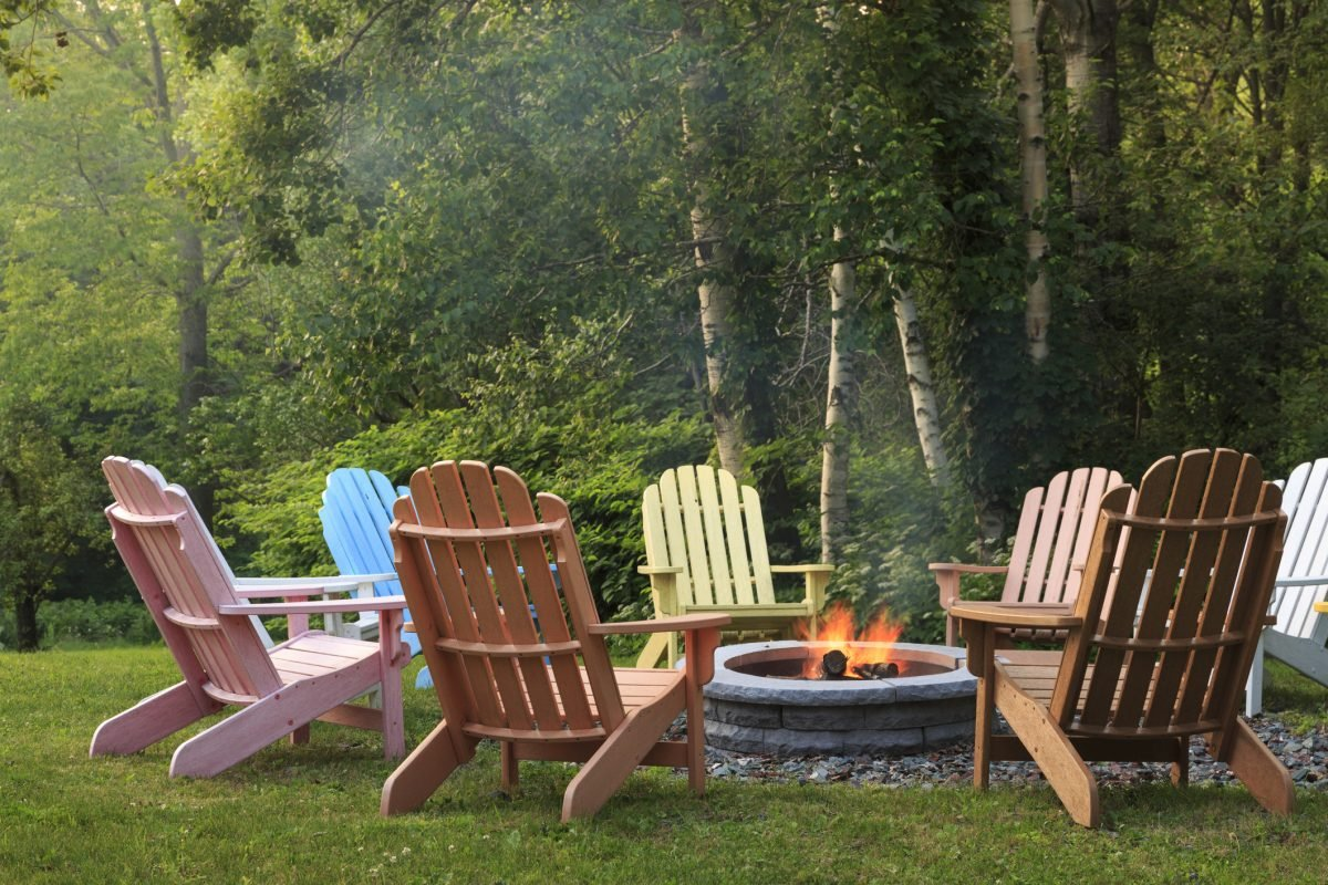 Landscaping ideas firepit