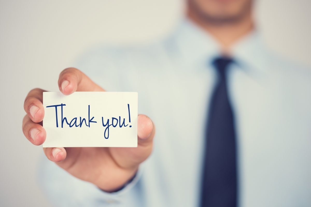 Consider sending a thank-you note if your manager says yes to your raise.