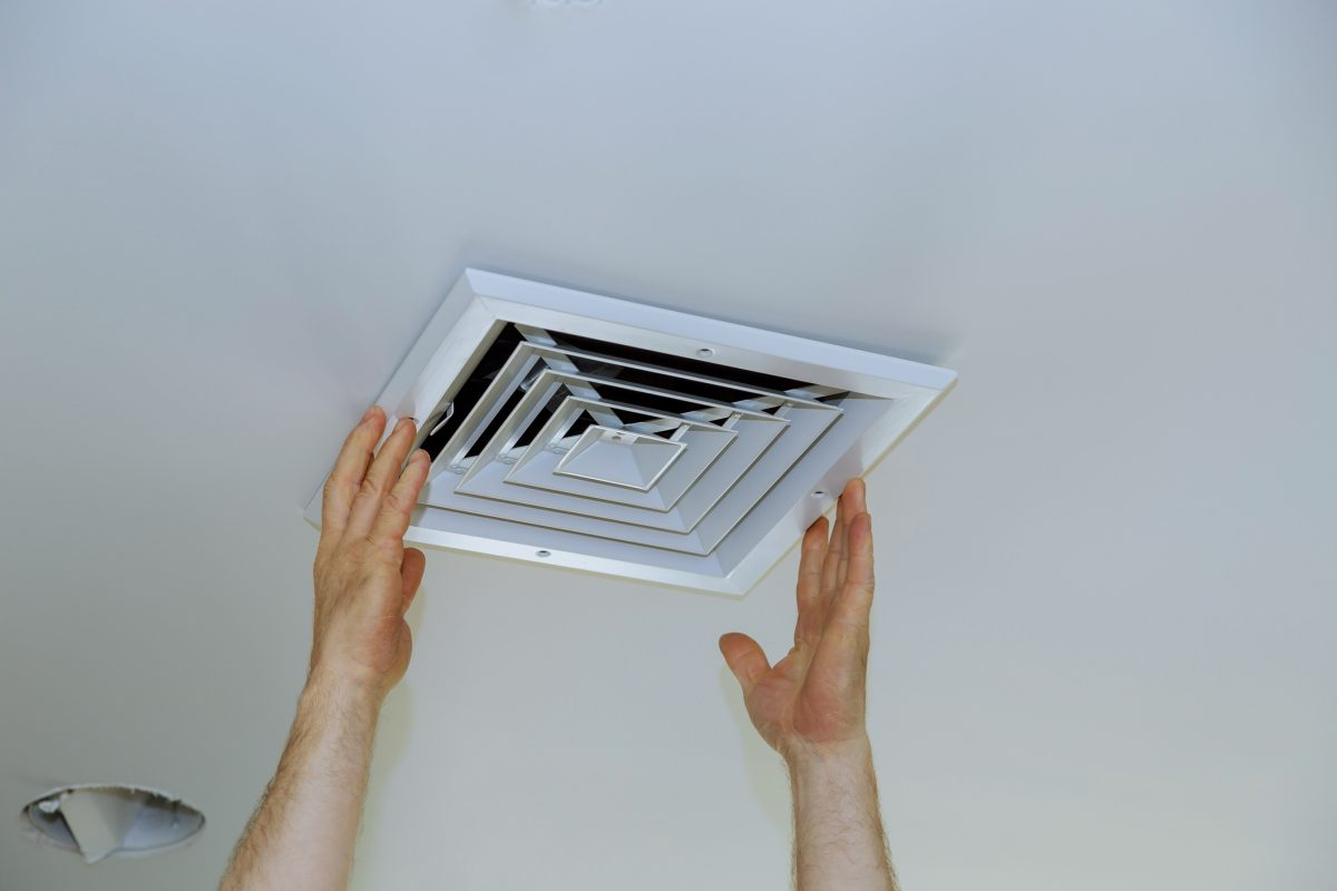 Bathroom Extractor Fan ventilation